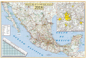 Mapas Tamaño Mural En Mercado Libre México