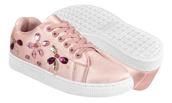 Tenis Casuales Para Dama Capa De Ozono 33329-1 Pink