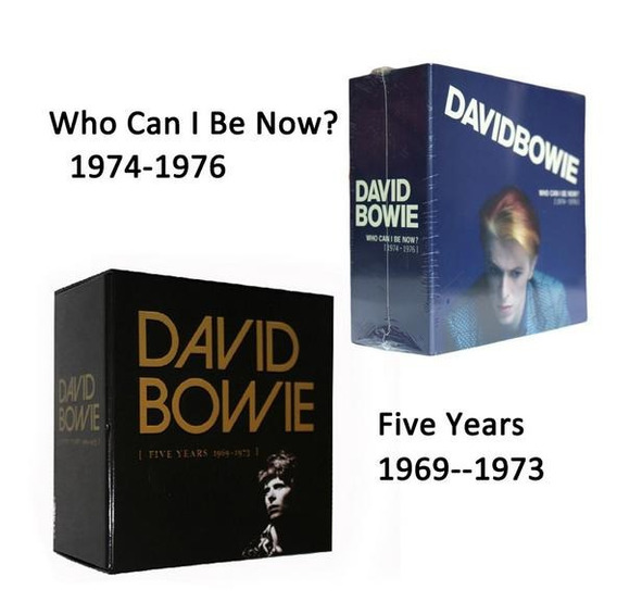 David Bowie Box Duplo Five Years - Who Can I Be Now?
