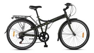 Bicicleta Folding Aurorita F26 Aluminio Plegable Shimano