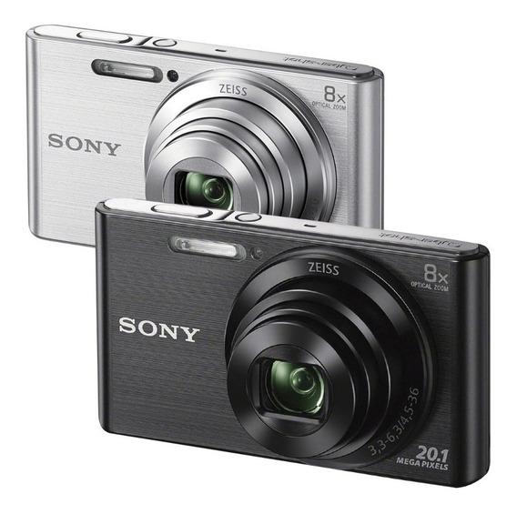 Cámara Sony Cybershot W800 20mp 5x Hd + 4gb + Estuche + Tríp