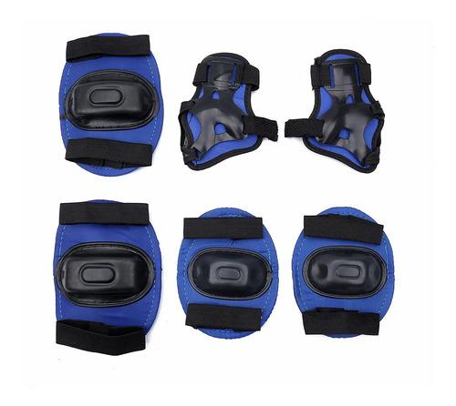 Imagen 1 de 4 de Set De Protección 2 Rodilleras 2 Coderas 2 Muñequeras - Otec
