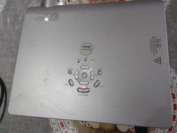 Projetor Toshiba Tdp S35 Usado- Liga Sem Imagem