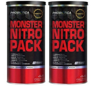 Monster Extreme Black De 44 Packs E 22 Packs 3 Frasco De Cad