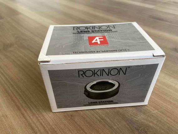 Lens Station Rokinon - (atualização Lente Rokinon)