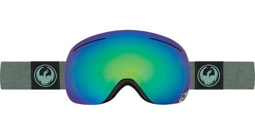 Antiparra Ski/snowboard // Dragon X1 Hone Emerald + Lente