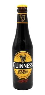 Pack X4 Cerveza Guinness Stout Special Export Porron 330 Ml