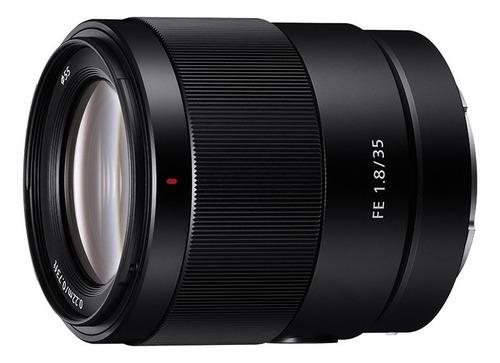 Lente Fijo Sony Full Frame Fijo Fe 35 Mm F1.8 - Sel-35f18f