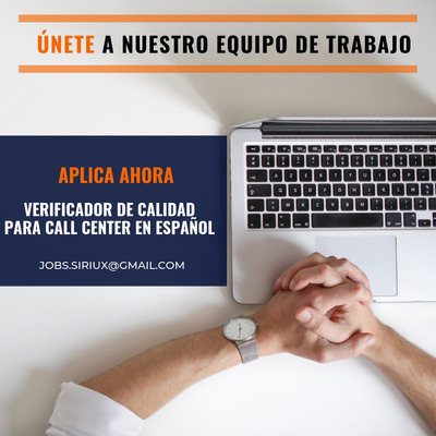Oferta De Empleo Verificador De Calidad Para Call Center