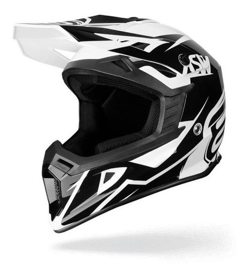 Capacete Asw Core Volt Motocross/trilha