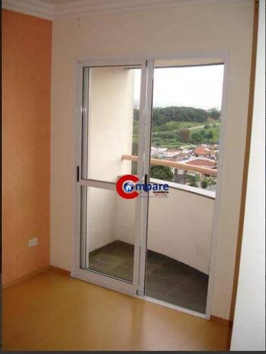 Imagem 1 de 12 de Apartamento À Venda, 65 M² Por R$ 350.000,00 - Vila Augusta - Guarulhos/sp - Ap8369