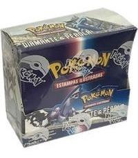 Booster Box Card Game Pokémon Diamante Pérola 300 Cards