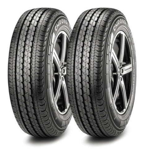 Kit X2 205/75 R16 Pirelli Chrono Neumen Ahora18