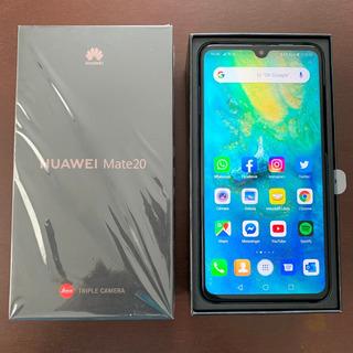 Huawei Mate 20 Telcel Azul Impecable Garantía