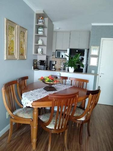 Imagem 1 de 23 de Apartamento Com 2 Dormitórios À Venda, 62 M² Por R$ 415.000,00 - Jardim Proença - Campinas/sp - Ap18919