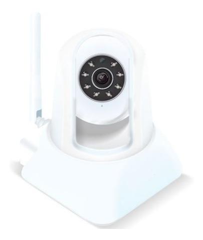 Ipcam - Monitoramento Remoto Wifi - Branca Simples Connect