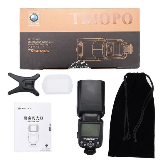 Flash Triopo Tr-950 Fujifilm Olympus Nikon Canon Camera Orig