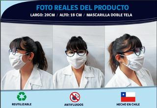 Mascarillas No Desechables Antifluidos