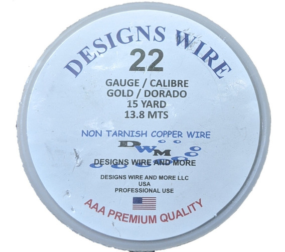 3 Alambres Para Bisutería Aaa Design Wire Paquete