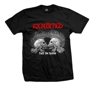 Remera The Exploited Fuck The System