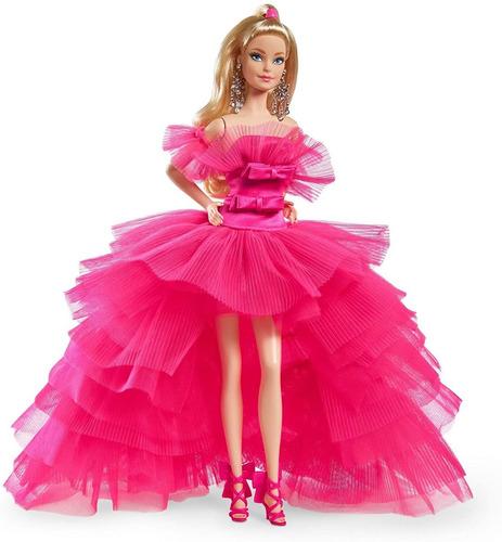 Imagem 1 de 8 de Barbie Signature Pink Collection Silkstone 2021 Collector