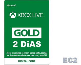 Xbox Live Gold 2 Días Suscripción De Prueba (global) Ecdos.2