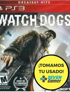 Watchdogs Ps3 Juego Fisico Sellado Nuevo Original Sevengamer