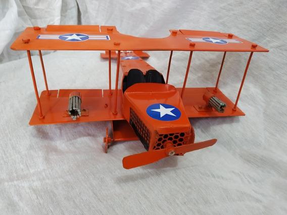 Réplicas Aviões 1ª Guerra Mundial Em Metal Diversos Modelos