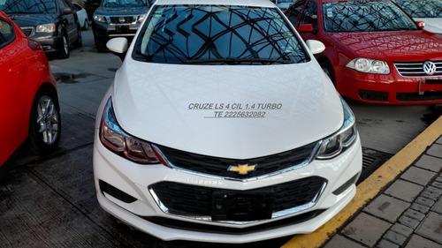 Imagen 1 de 15 de Chevrolet Cruze 2018 Ls 4 Cil 1.4 Turbo Eng $ 53,600