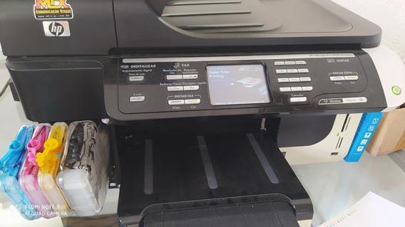 Impressora Hp 8500 Pro A4 Colorida Com Bulk