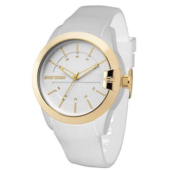 Relógio Mormaii Mopc21jag8b Feminino Branco
