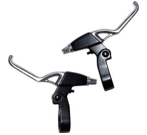 Imagem 1 de 2 de Manetes De Freio Maçaneta Para Bicicleta Logan Alumínio Par
