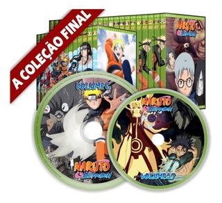 Dvd Naruto Completo + Shippuuden + Filmes - A Coleção Final
