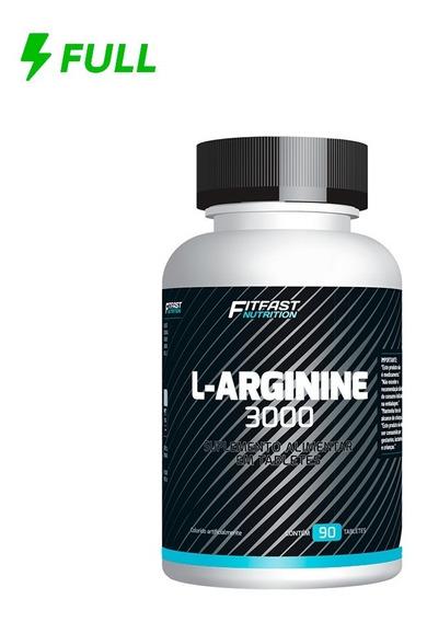 Arginina L- Arginine 3000mg Fit Fast 90 Tabletes
