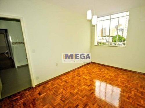 Imagem 1 de 11 de Apartamento À Venda, 63 M² Por R$ 297.000,00 - Cambuí - Campinas/sp - Ap4564