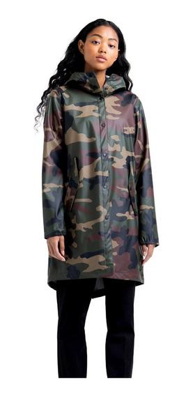 Chamarra Herschel Mujer Verde Rainwear Fishtail 4000200027