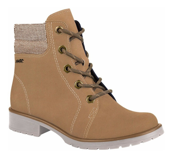 Bota Dakota B8841 Amendoa Natural Super Confortavel