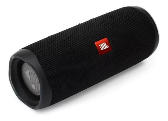 Caixa De Som Jbl Flip 5 Preta Bluetooth 20 W Original Jbl