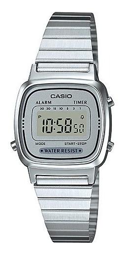 Relógio Casio Feminino Retro Vintage La-670wa-7df