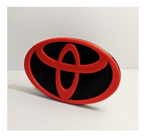 Imagen 1 de 2 de Cubre Gancho Toyota Logo