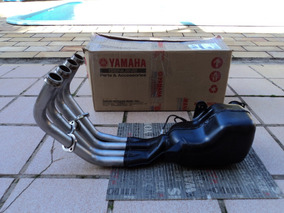 Escapamento Yamaha Xj6 (operado)