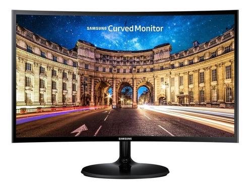 Imagem 1 de 5 de Monitor Led 24pol Samsung C24f390 (va, Full Hd, Curvo, Hdmi,