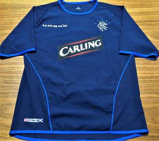 Camisa Glasgow Rangers 2002/03 Caniggia #7 Rara