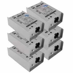 Kit 6 Direct Box Passivo Arcano Di-10 C/ Garantia Pedal