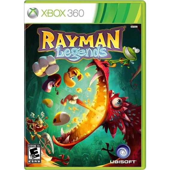 Rayman Legends Xbox 360 One Midia Fisica Original Lacrado Br