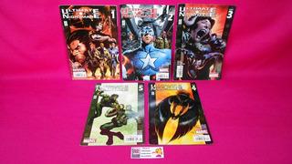 Comic Ultimate Nightmare No.1 2 3 4 Y 5 Año 2005 Marvel
