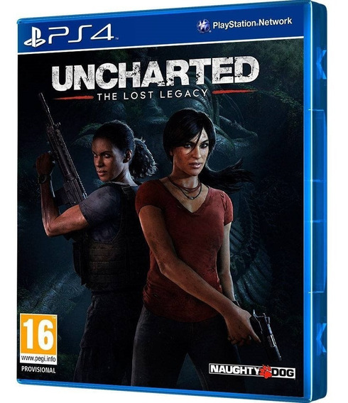 Jogo Uncharted The Lost Legacy Ps4 - Playstation 4