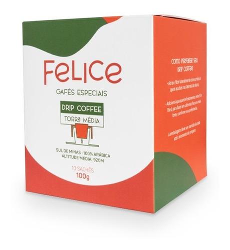 Drip Coffee Felice 10 Sachês