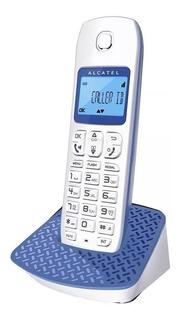 Telefono Inalambrico Manos Libres Agenda Alcatel E192 Azul