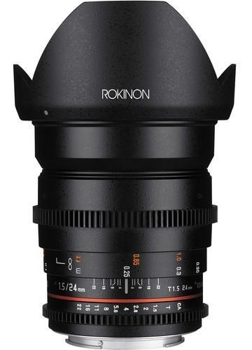 Lente Rokinon 24mm T1.5 Cine Ds Sony E-mount (ds24m-nex)
